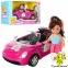 Лялька Аріна на автомобілі з собачкою 21,5см. 1