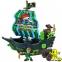 Корабель Піратські пригоди-Битва за острів, звукові і світлові ефекти, 40см. 0