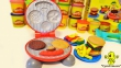 Набір пластиліну Play-Doh Kitchen Бургер Гриль, 5 кольорів 1