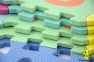 Дитячий килимок пазл Мозаїка Алфавіт 0379, 1 рік+ 1