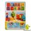 Конструктор Поїзд з кубиками Рахуй і грай, JDLT 5300 аналог LEGO DUPLO (53 дет.) 0