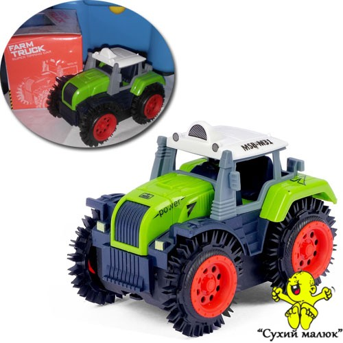 Трактор-перевертиш 10см., арт.M31-1 в асортименті