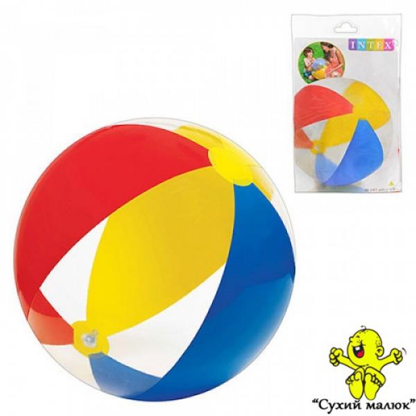 М'яч 59032 надувний, комбінований 61 см