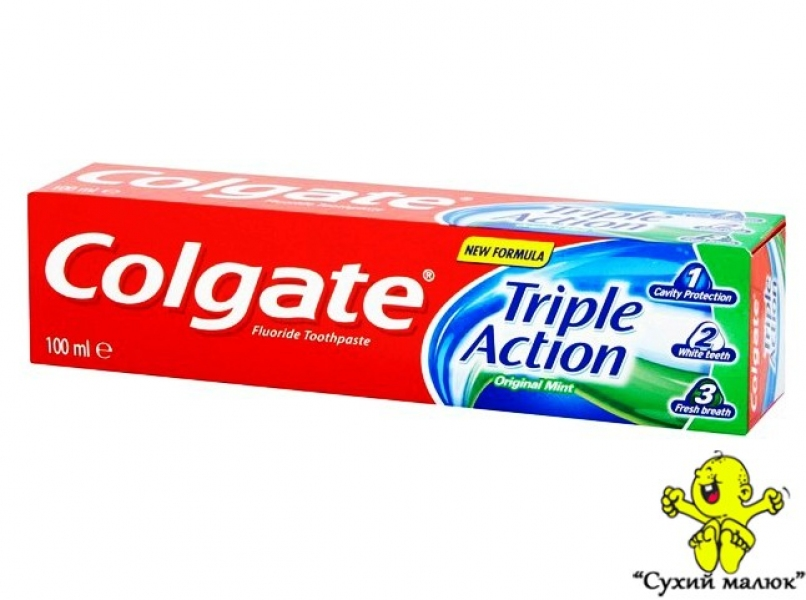 Зубна паста Colgate Triple Action 100ml