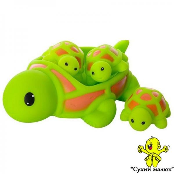 Іграшка для купання Черепашки пищалка в асортименті, арт.6327