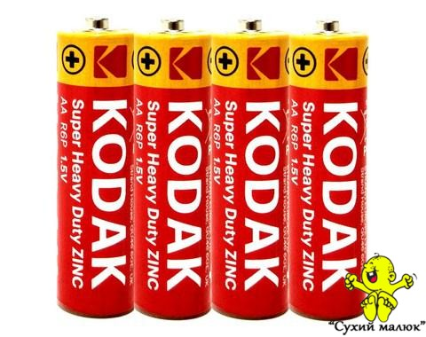 Батарейки Kodak АА, 1,5В (4шт)