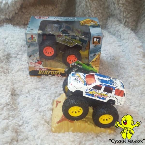Машинка Джип Monster металева, інерційна 9,5см. в асортименті арт.DS842