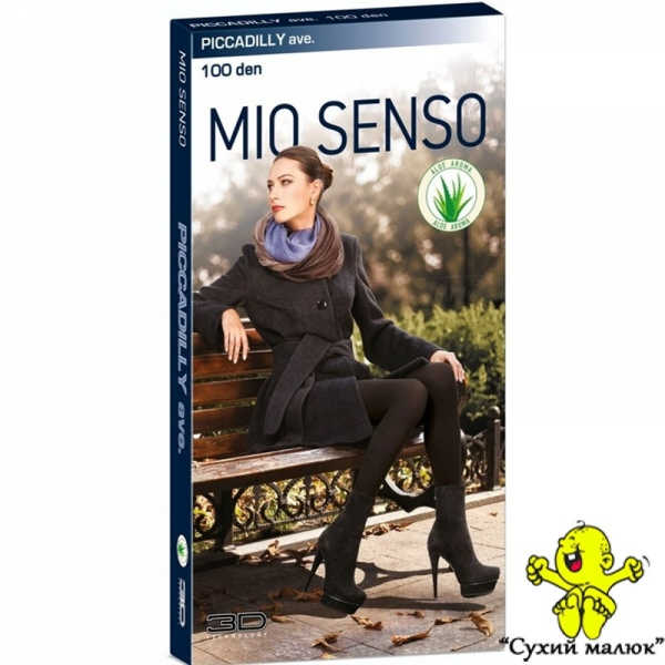 Колготи MIO SENSO 100 den Piccadilly 3D розмір 3 - M