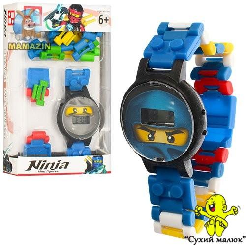 Конструктор-годинник дитячий NINJAGO 863002 в коробці 7*3*12см