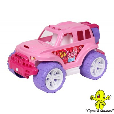 Машина Позашляховик рожевий ТехноК 35см. арт. 4609