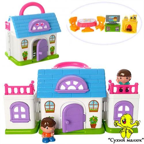 Будиночок 22063 меблі, фігурки 2 шт розкладний