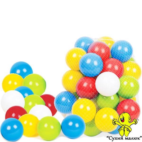 Кульки для сухих басейнів, набір 80мм. ТехноК 4333 (60шт.)
