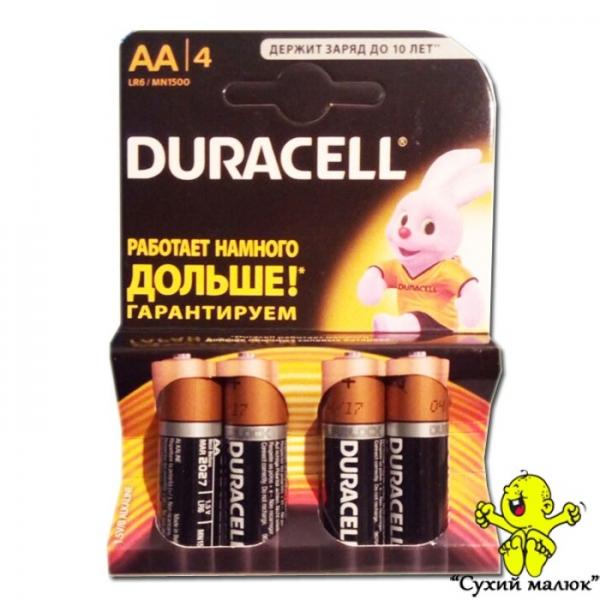 Батарейки Duracell АА LR6 MN1500 (4шт)