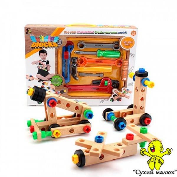 Набір інструментів-конструктор Building Block 808-7