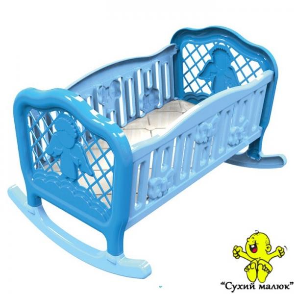Ліжко колиска для ляльки ТехноК 4531