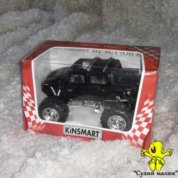 Машинка 2005 Hummer H2 Sut металева, інерційна 13см. арт.KT5326W