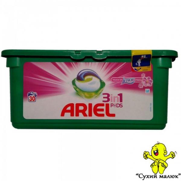Капсули для прання ARIEL 3in1 Lenor 30