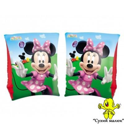 Нарукавники надувні Disney Bestway (3-6р) Minnie Mouse