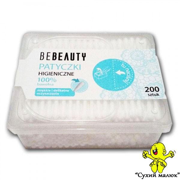 Палички гігієнічні BeBeauty (200шт)