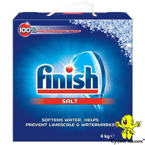 Сіль для посудомийної машини Finish Sol 4 kg