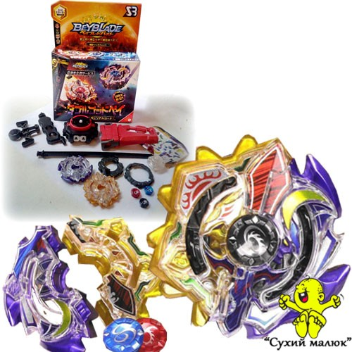 BeyBlade Burst Duo Eclipse Sun Moon God, Сонце і Місяць