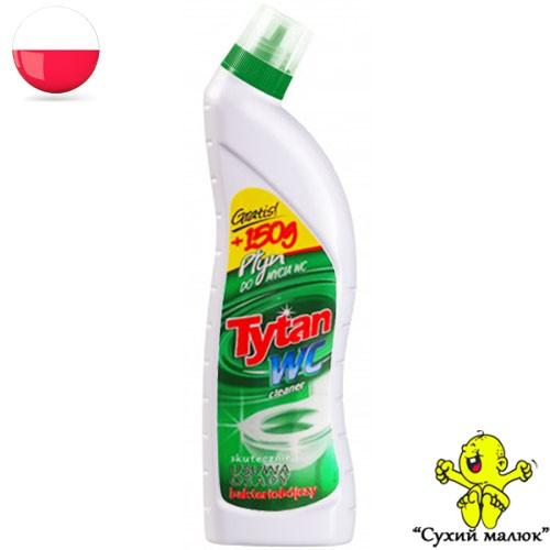 Засіб для миття унітазів Tytan WC Zielony 850ml