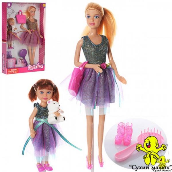 Лялька Defa з донькою та аксесуарами, 29см.