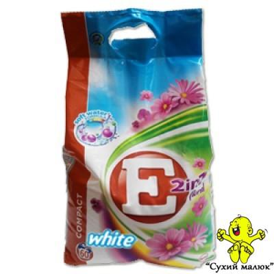 Порошок E White 4,5 кг (60 праннів) Квітковий
