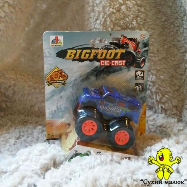 Машинка Джип Bigfoot 4x4, метал, інерційна 9,5см., арт.DS843