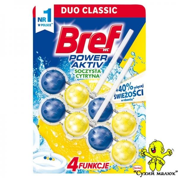 Bref Cytryna Блок дезінфікуючий для туалету Бреф лимон (2sht)