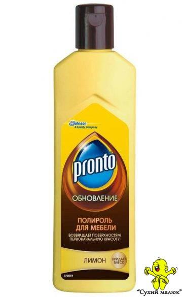 Поліроль крем для меблів Pronto Лимон (300гр.)