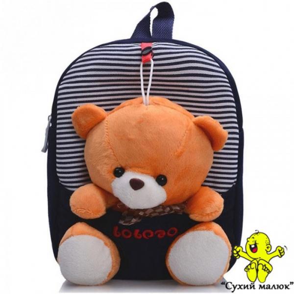 Рюкзак Ведмежатко Тедді (Teddy) темно синій