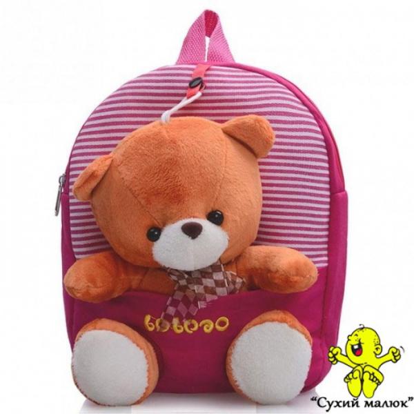Рюкзак Ведмежатко Тедді (Teddy) рожевий