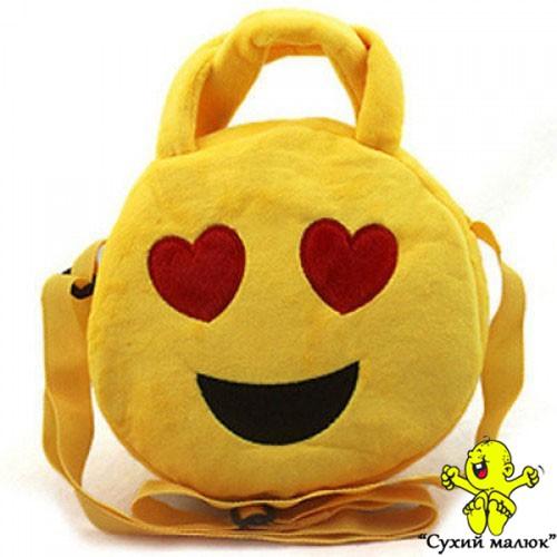 Сумка-рюкзак Смайлик