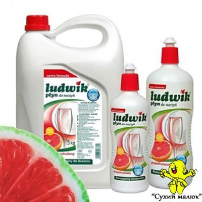 Плин для посуду Ludwik грейпфрут 1л