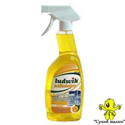 Засіб для миття скла Ludwik лимон 750мл