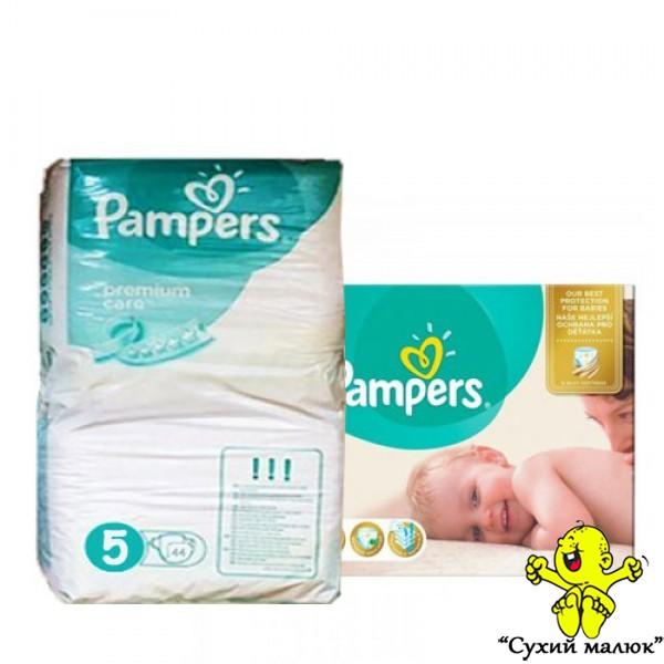 Підгузники Pampers Premium Care 5 44 шт. (11-18кг) половинка