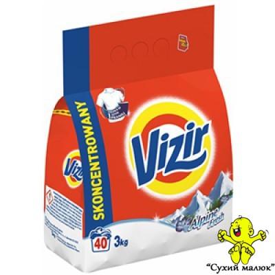 Пральний порошок Vizir alpine 3 кг