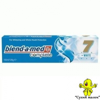 Зубна паста Blend-a-Med 7 Complete White 100мл