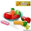 Продукти на липучці овочі та фрукти, арт.FD232-21-22-23
