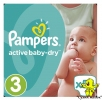 Pampers Active Baby Dry 3 54