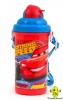 Бутилочка для напоїв з трубочкою Маквін 400мл., 1Вересня арт.706263